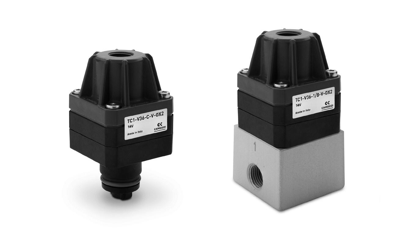 Micro-Válvulas de cierre Serie TC