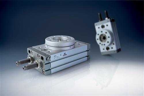 Serie QR – Actuador rotativo con sistema de cremallera y piñón